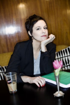 Sara Stridsberg. Fotograf Robert Blombäck.