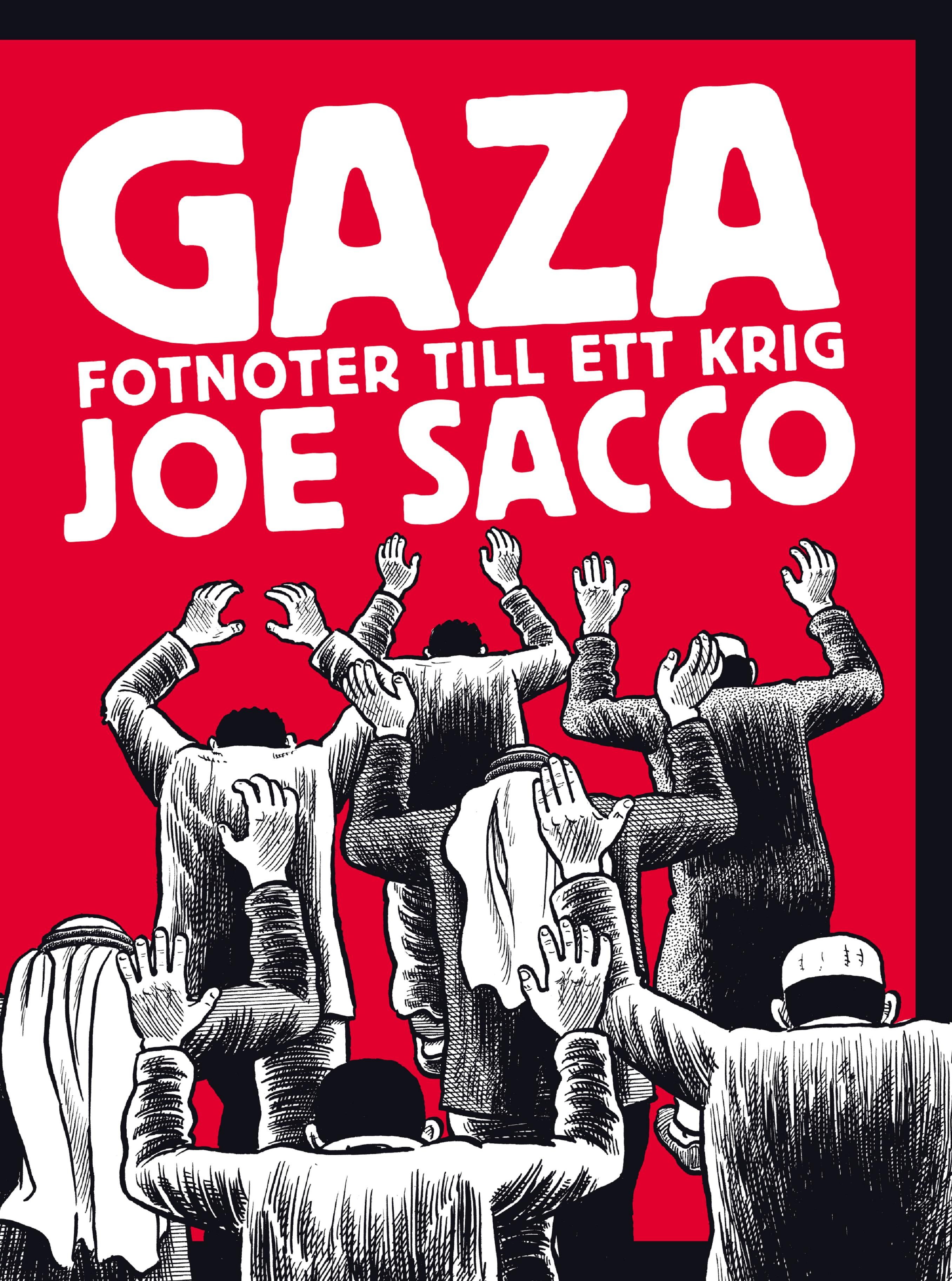 joe-sacco-gaza-fotnoter-till-ett-krig-omslag