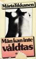 Märta Tikkanen, Män kan inte våldtas (omslag)