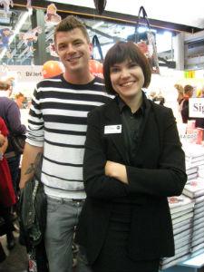 Mats Strandberg och Sara Bergmark Elfgren