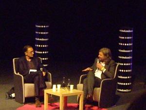 Aris Fioretos och Karl Ove Knausgård