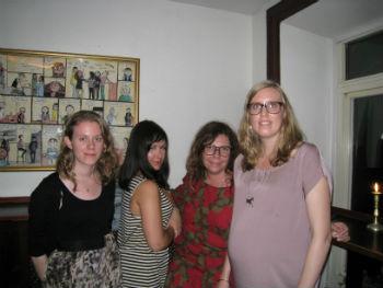 Camilla, Anna C, Anna Liv och Emelie
