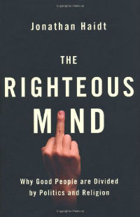 Jonathan Haidt: 'The Righteous Mind'