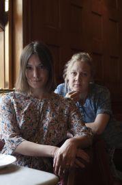 Lisa Wiklund och Jenny Damberg. Foto: Sofia Runarsdotter