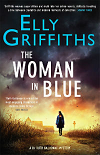 : The woman in blue