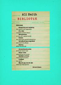 Ali Smith: 'Bibliotek'