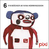 : 6 pixiböcker av Nina Hemmingsson