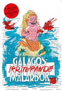 : 'Galagos irriterande målarbok'