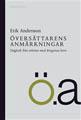 : Översättarens anmärkningar - dagbok från arbetet med Ringarnas herre